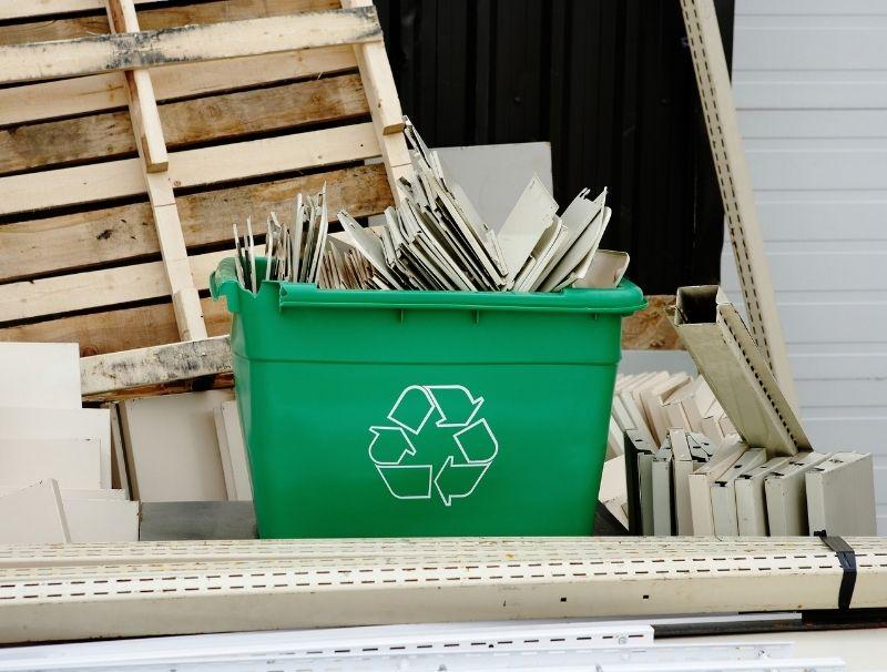 Colis en carton recyclé